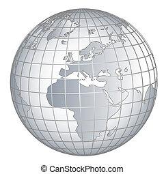 Globe Europe Africa