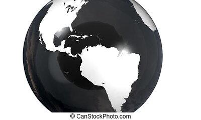 globe, explosion