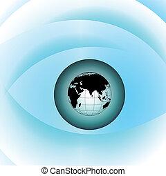 Globe eye