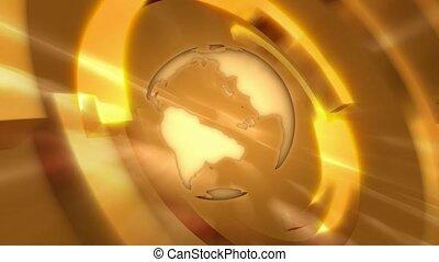 globe, goud