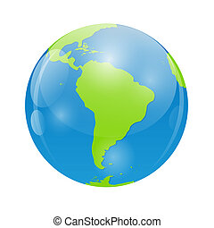 Globe Icon Vector Illustration for Your Design