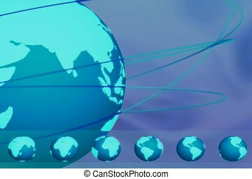 globe, la terre