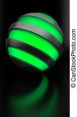 globe light green