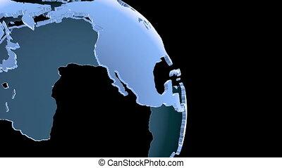 Globe Loop Rotation