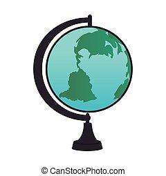 globe map world