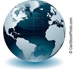 globe mondial, cartes