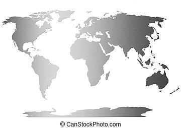 globe mondial, commercer, carte