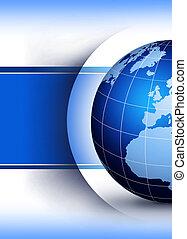 globe mondial, conception, concept