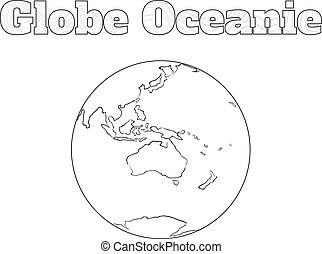 Globe Oceanie view