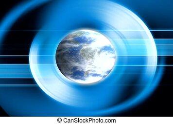 globe, orbe, atmosphère