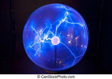 globe, plasma