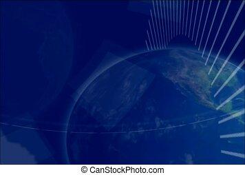 globe, rotate, universe
