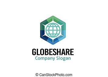 Globe Share Design