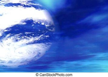 globe, sky, universe