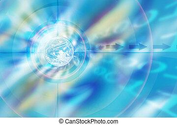 Globe - Illustration background
