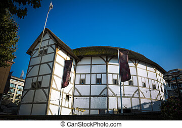 Globe Theatre - The Shakespearean theatre on the South Bank...