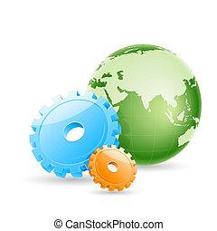 globe, toestellen
