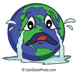 globe, triste
