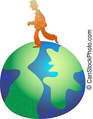 globe trotting