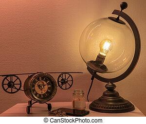 Globe Vintage Lamp