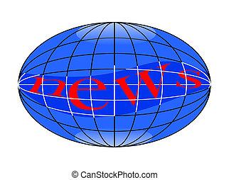 Globe with