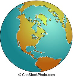 Globe - World globe design