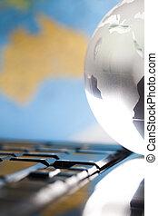 Globe & World