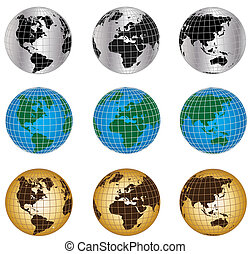 globi, mondo, set