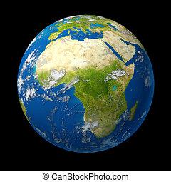 globo, áfrica