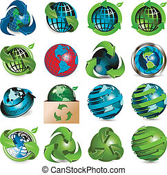 globo, ícones