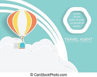globo, agente de viajes