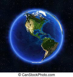 globo, américa