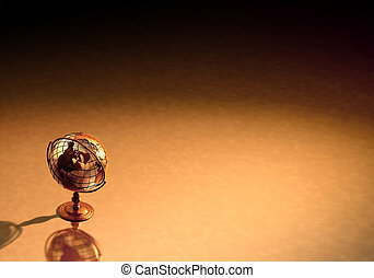 globo antico, fondo