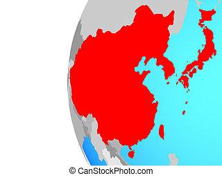 globo, asia orientale