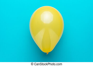 globo azul, arriba, turquesa, plano de fondo, foto