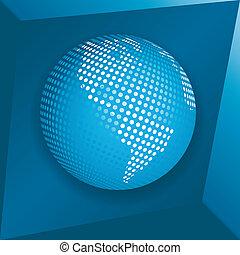 globo blu