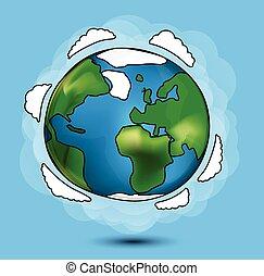 globo, caricatura
