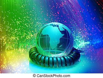 globo, con, alta tecnología