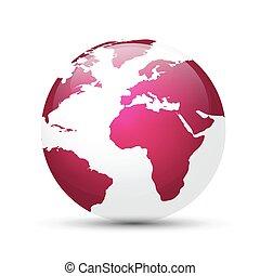 globo de la tierra