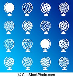 globo, iconos