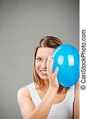 globo, mujer