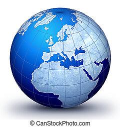 globo mundial, evolução