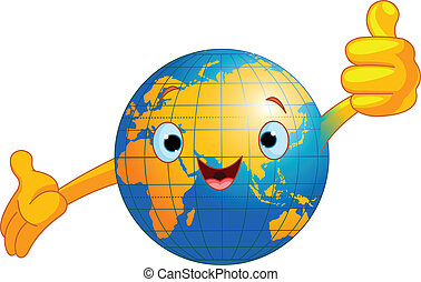 globo mundial, personagem