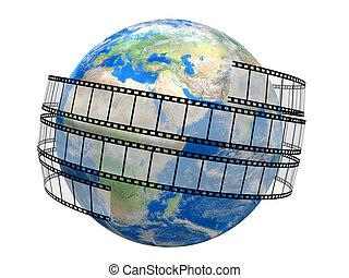 globo, striscia cinematografica