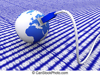 globo terra, com, rede, cabo