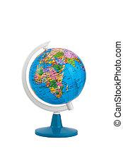 globo terrestre, isolado