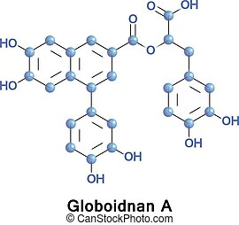 Globoidnan A is a lignan found in Eucalyptus globoidea, a tree native to Australia. The molecule has been found to inhibit the action of HIV integrase