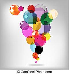 globos, guirnalda