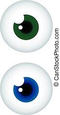 globos oculares