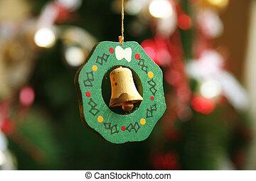 glocke, weihnachtszierde